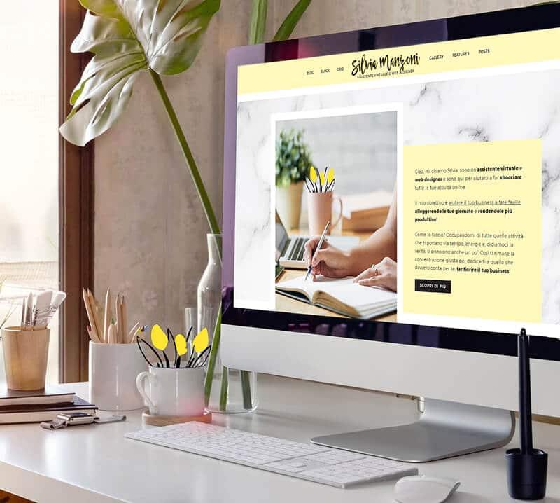Silvia Manzoni web designer, ti aiuto a migliorare la tua presenza online e vendere sul web