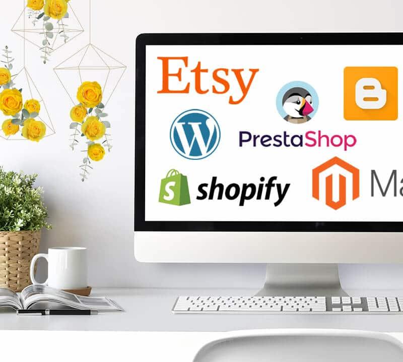 E-commerce e siti germogliati, ti realizzo un sito dinamico, di design e funzionale