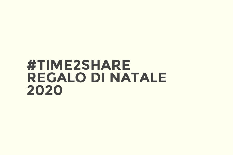 #time2share - Francesca Baldassarri